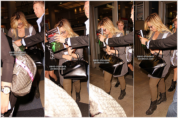*03.09.2013 : Demi était l'invitée de l'émission « Live with Kelly & Michael ». (NY) *