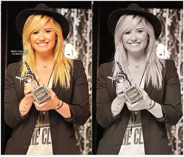 * Découvrez des interviews exclusives de Demi Lovato pour VEVO !            *Ces dernières semaines, trois de ses clips ont dépassé les 100 millions de vues (Skyscraper, Give your heart a break & Heart attack). Suite à cela, elle a reçu trois récompenses et ses clips ont été #VevoCertified._______www.demi-soource.skyrock.com                  *