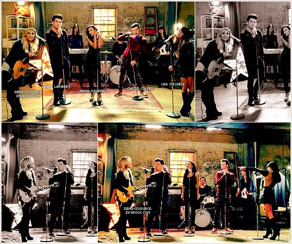 *26.09.2013 : Demi Lovato a tourné un nouvel épisode de Glee !  *
