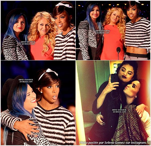 *07.11.2013 : Un live show d'X Factor USA s'est déroulé à Los Angeles. ___________________________________________________Il n'y a pas eu d'élimination ce soir-là. *