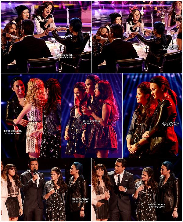 *13.11.2013 : A Los Angeles s'est déroulé un live show d'X Factor USA. *