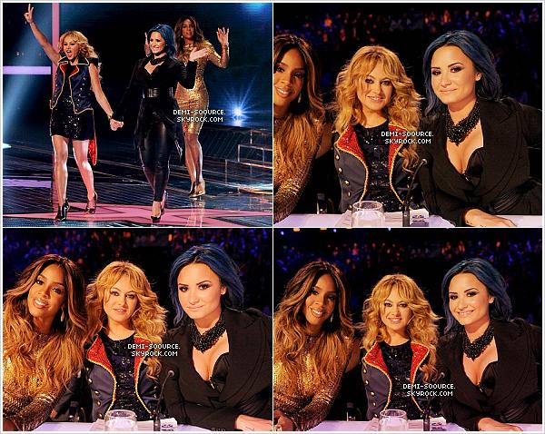 *20.11.2013 : Dans la soirée s'est déroulé un live show d'X Factor USA, à Los Angeles. *