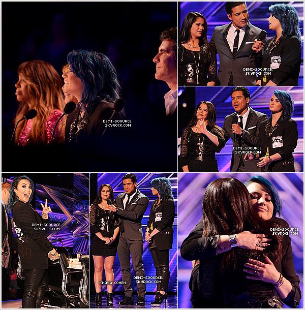 *21.11.2013 : Jeudi soir a eu lieu un live show d'X Factor USA, avec 2 éliminations. *