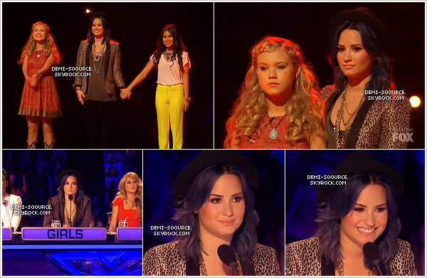 *27.11.2013 : Le soir s'est déroulé un énième live show d'X Factor USA. (LA) *