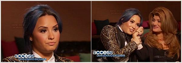 *  Pour la première fois, Demi Lovato se confie sur son addiction à la drogue ! *