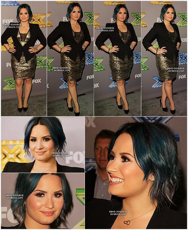 *18.12.2013 : A LA s'est déroulé l'avant dernier live show de la saison 3 d'X Factor USA. *