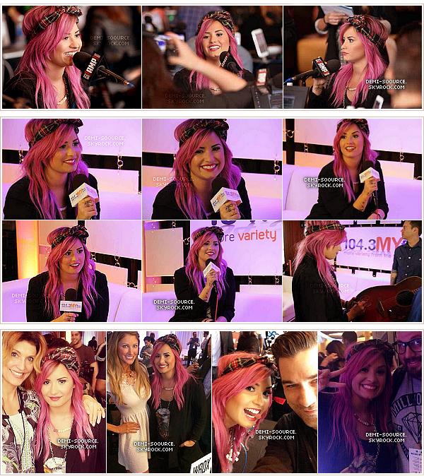 *24.01.2014 : Demi Lovato a assisté à la pré-Grammys Party. *