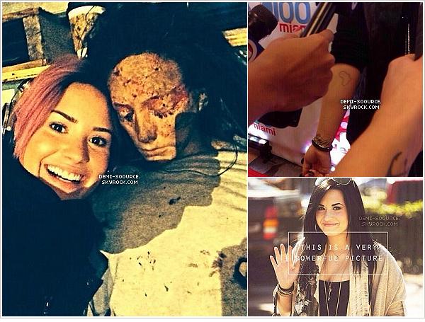 *28.01.2014 : Demi Lovato a posté une nouvelle photo via Twitter. *
