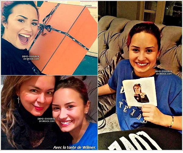 *  03.02.14 : Une photo via Twitter et deux photos dans son appartement ont été postées.    *