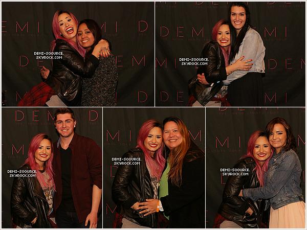 *  09.02.14 : Demi a donné le premier concert du Neon Lights Tour, à Vancouver. (Canada)   *