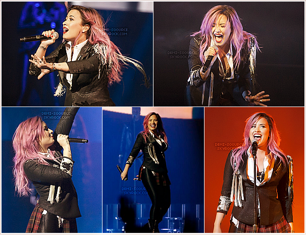 *  11.02.14 : Le Neon Lights Tour se poursuit, à San Jose. (Californie)    *