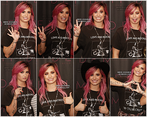 *  19.02.14 : Le Neon Lights Tour se poursuit à Houston, au Texas.   *