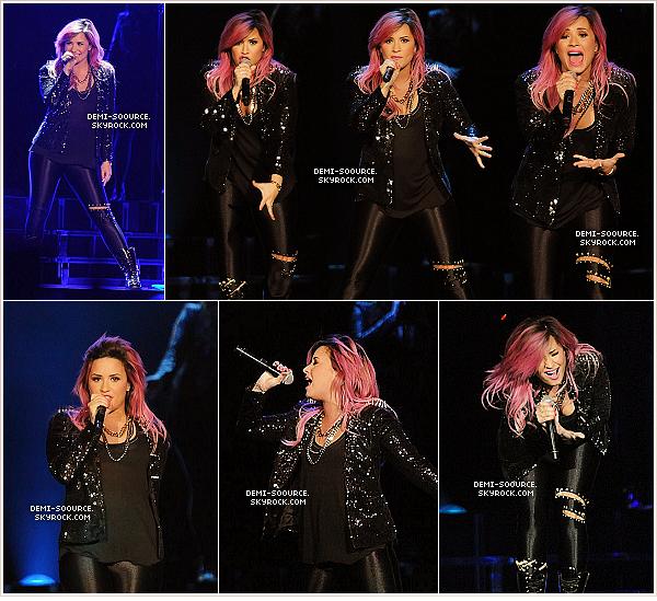 *  21.02.2014 : Demi Lovato a donné un énième concert, à Atlanta, en Géorgie.   *