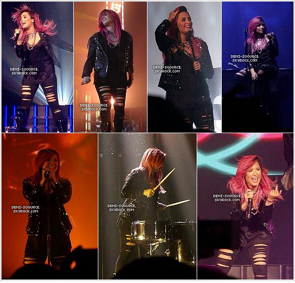 *  01.03.2014 : Demi a donné un concert à Camden, au New Jersey.   *