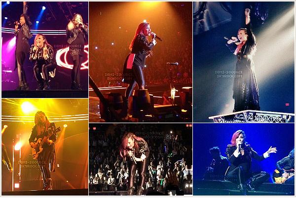 *  02.03.2014 : C'est à Fairfax, en Virginie, que Demi a donné un concert ce soir-là.   *