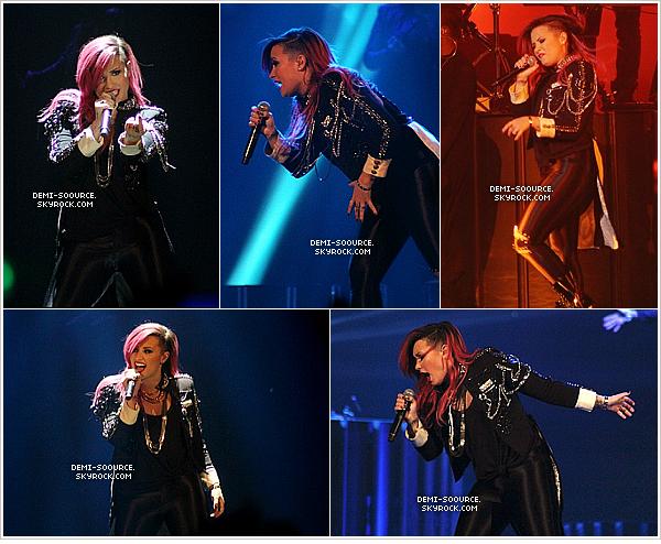 *  05.03.2014 : Demi a donné un concert à Worcester, dans le Massachusetts.   *