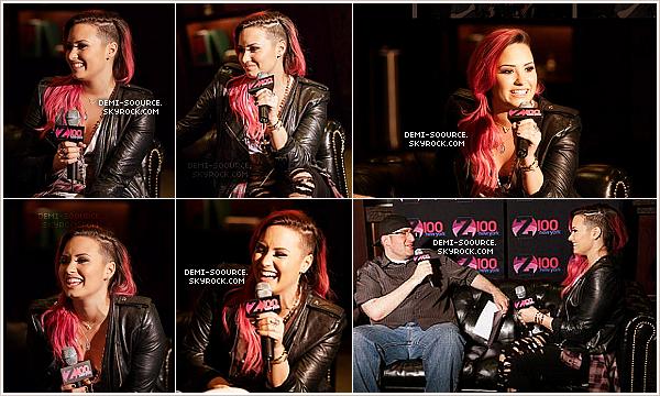 *  07.03.2014 : Demi a fait son show à East Rutherford, dans le New Jersey.   *