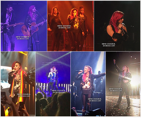 *  08.03.2014 : Le Neon Lights Tour se poursuit à Wallingford, dans le Connecticut.   *
