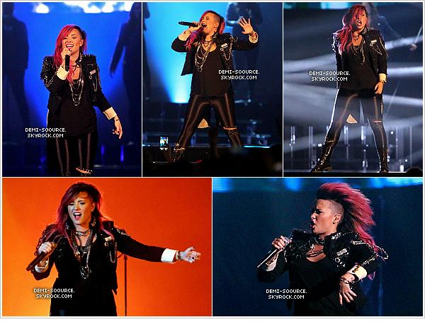 *  11.03.2014 : Demi a donné un concert à Unionsdale. (NY)     ♥♥DEMI-SOOURCE♥♥   Toujours malade, elle a annulé le soundcheck. *