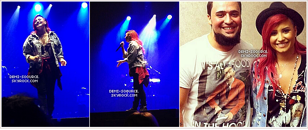 *  16.03.2014 : Demi a assuré un show à Omaha. (Nebraska)    *