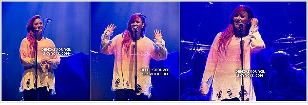 *  22.03.2014 : Demi a assuré un concert à Columbus, dans l'Ohio.    *