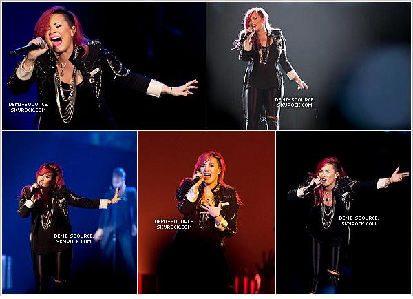 *  23.03.2014 : Demi a donné un concert à Grand Rapids, dans l'état du Michigan.    *