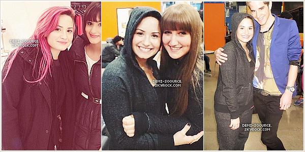 *  25.03.2014 : Demi Lovato a rencontré des fans à Toronto. (Canada)    *
