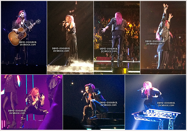 *  29.03.2014 : Demi a donné un concert à Nashville, dans le Tennessee.    *