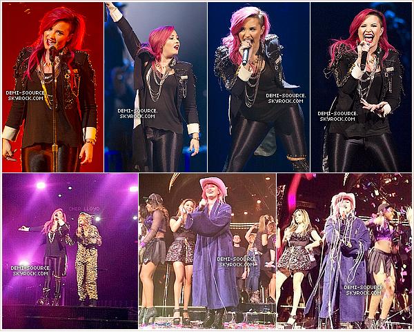 *  30.03.2014 : C'est à Indianapolis que s'est terminée la première partie de la tournée !    *