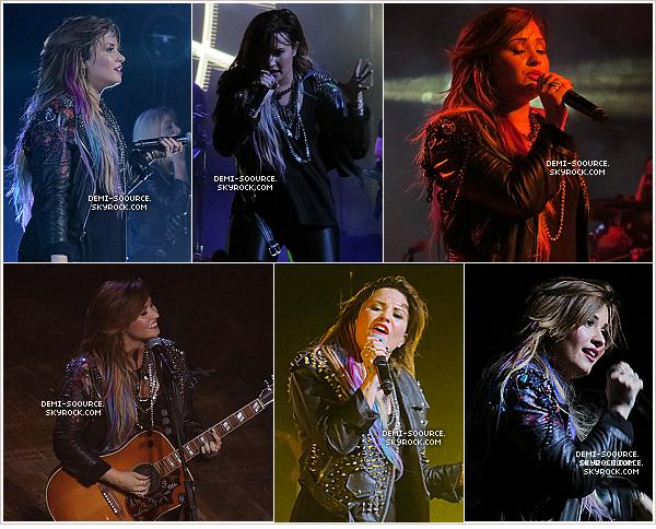 *  24.04.2014 : Demi a à nouveau donné un concert dans la salle Citybank Hall. (Sao Paulo)        *