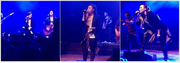 *  25.04.2014 : Demi Lovato a donné un troisième concert à Sao Paulo. (Brésil)        *