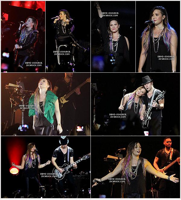*  27.04.2014 : Le Neon Lights Tour se poursuit à Rio de Janeiro. (Brésil)        *