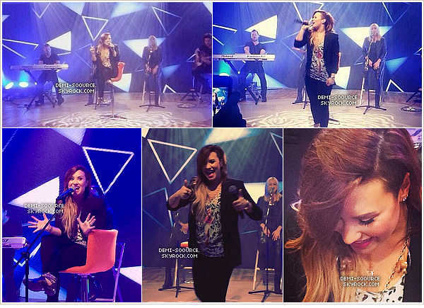 *  28.04.2014 : Demi a été vue quittant son hôtel à Rio de Janeiro. (Brésil)        *