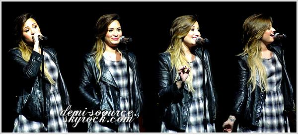 *  03.05.2014 : Demi a donné le dernier concert au Brésil, à Porto Alegre.      *