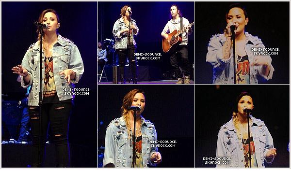 *  06.05.2014 : Demi a fait le show à Buenos Aires, en Argentine.      *