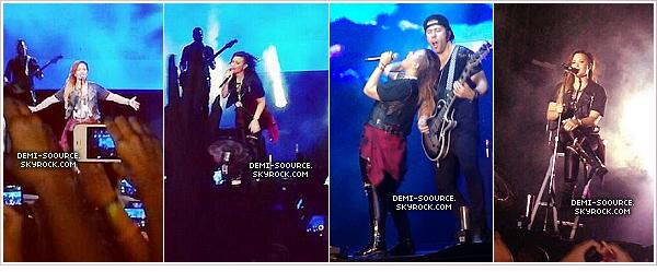 *  10.05.2014 : Demi a donné un concert à Guayaquil, en Equateur.       *