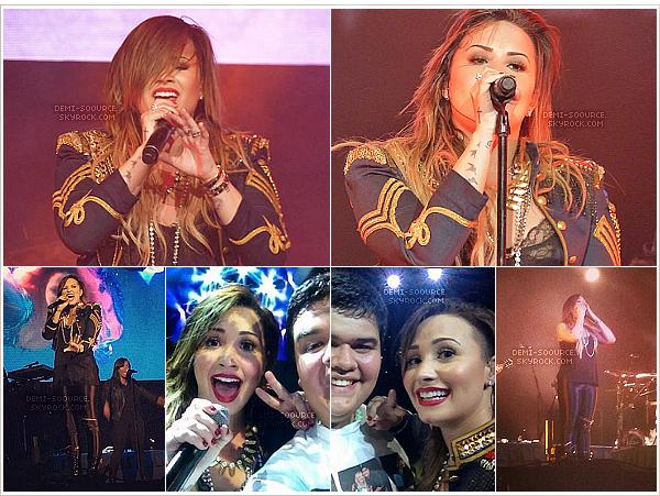 *  17.05.2014 : Demi a donné le dernier concert du NLT en Amérique latine, à Monterrey. (MX)    *