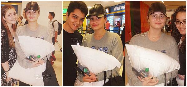 *  02.06.2014 : Demi a quitté son hôtel londonien. (Angleterre) *