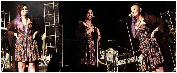 *Le 19 juillet 2014, Demi a donné un concert à Reno, dans l'état du Nevada.   *