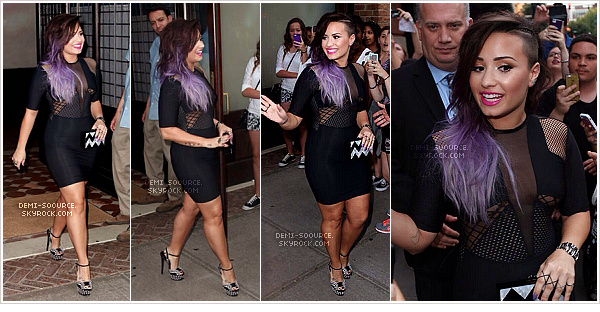*Le 23 juin 2014, Demi était invitée à l'évènement LogoTV, à New York.   *
