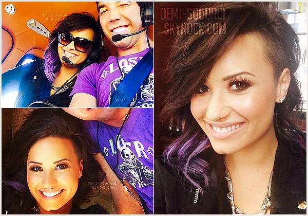 *Le 21 juillet 2014, Demi a donné un concert gratuit à Long Beach. (CA)   *
