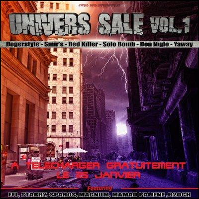 Univers Sale (Vol.1) / Don Niglo - Revolution (Ft Red Killer, Dogerstyle) (2012)
