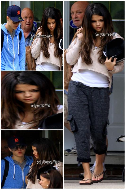 . 04/06/2011 : Selena quitte la maison des grands-parents de Justin..