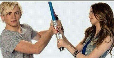 Ross Lynch & Laura Marano promotion 2014