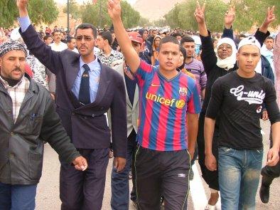 Bouârfa  : Tentatives d'immolation par le feu et violents affrontements
