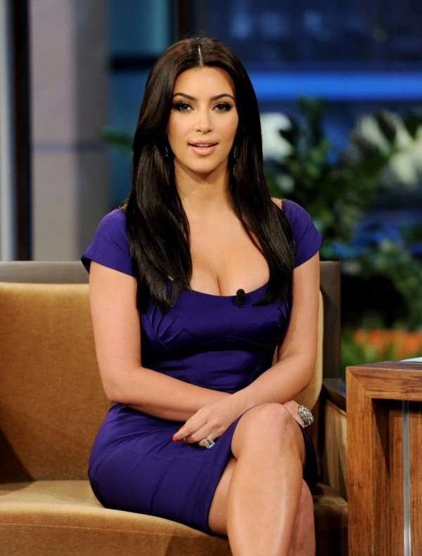 "Kim Kardashian  ""The Tonight Show with Jay Leno"""
