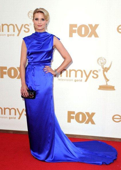 Dianna Agron à la 63ème cérémonie des Emmy Awards .