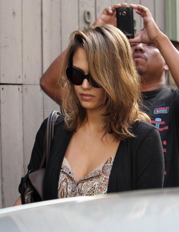 Jessica Alba à LA le 21 septembre .