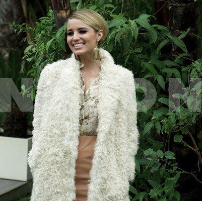 Dianna Agron pose pour Nylon .