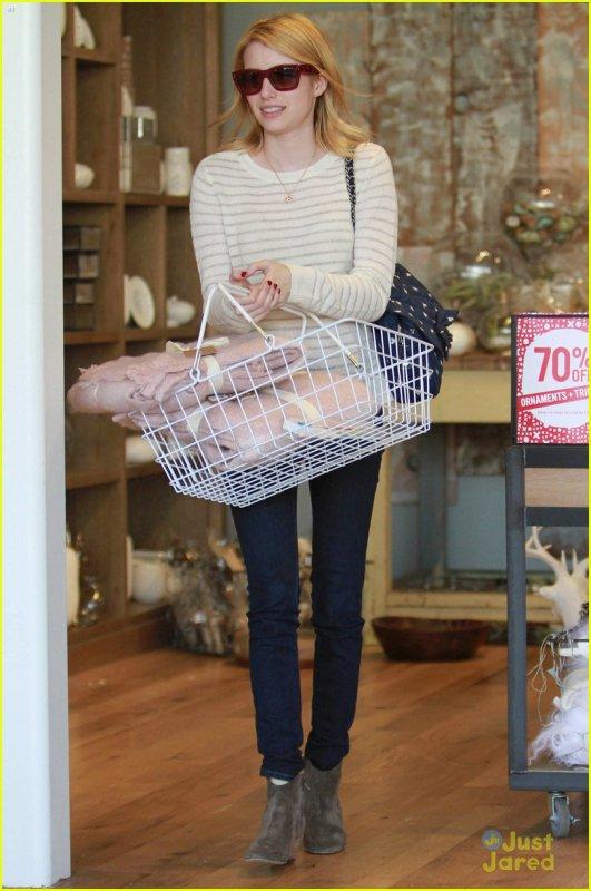 Emma Roberts de sortie .